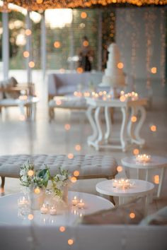 The Aleit Group showcases Remarkable Wedding Trends in Cape Town, SA & Ex Miss World Rolene Strauss' Magical Wedding Cape Town Wedding Venues, Wedding Reception Venues, Reception Table, Wedding Reception Decorations, Wedding Day, Tea Light Lanterns, Tea Lights, Small Flower Arrangements, Magical Wedding