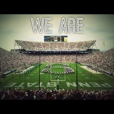 Been to several games, Greg is Alumni, drg Penn State Football, State College, PA Go Nittany Lions! Penn State College, Pennsylvania State University, College Football Teams, Nittany Lion, Happy Valley, Alma Mater, College Life, Places To See, Tailgating