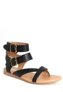 67efdceb0f3c Soda Shoes Pound Double Buckle Ankle Strap Sandals for Women in Black  POUND-S-