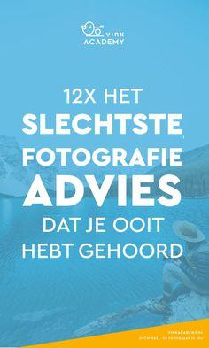 Wil jij een betere fotograaf worden of gewoon mooiere foto's maken? Negeer dan vooral dit mega slechte fotografie-advies. In het artikel zet ik de slechtste fotografie adviezen die ik ooit heb gehoord op een rijtje en geef ik je wel de nuttige fotografie tips. #fototips