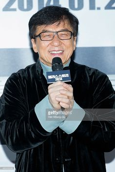 Actor Jackie Chan arrives the premiere of 'Police Story 2013' at IFC Mall on January 17, 2014 in Seoul, South Korea. The film will open on January 29, in South Korea.