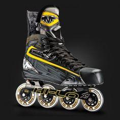 Mission Axiom T8 Roller Hockey Skate Roller Hockey Skates, Hockey Stuff, Cleats, Hiking Boots, Sports, Fashion, Football Boots, Hs Sports, Moda