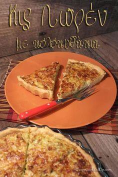 Κις Λορέν κολοκυθιού, η οικονομική ⋆ Cook Eat Up! Cookbook Recipes, Cooking Recipes, Greek Recipes, Starters, Quiche, Recipies, Food And Drink, Menu, Sweets