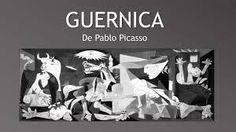 guernica c'est donc un tableau cubiste qui s'est fait avec des formes géométriques ,à travers au quel se cache plusieur message comme la lampe qui est au centre qui présente l'oeil..........