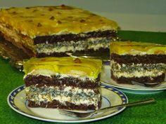 Polish Cake Recipe, Sweets Cake, Tiramisu, Cake Recipes, Recipies, Food And Drink, Pudding, Treats, Chocolate