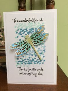 AmethyStar Crafting : Stampin Up Dragonfly Dreams