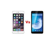Apple iPhone 6 Plus Vs Xolo Android Q900s - Specs of Gadgets