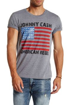 American Rebel Flag Graphic Tee