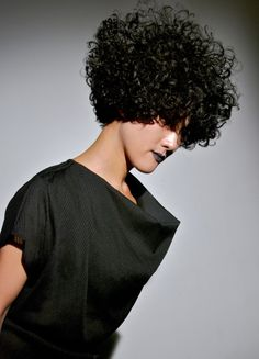 ...ahhh cutting curly hair is the best!!!  This shape is brilliant.