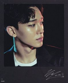 [SCAN] EXO'rDIUM Polaroid & Mount Photocard - Chen #AdminWing ___ Cr: 하나비…