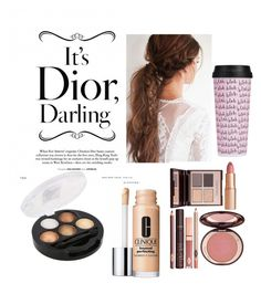 """Touch of Darling"" by deishibby ❤ liked on Polyvore featuring beauty, Clinique, Charlotte Tilbury and Bando"