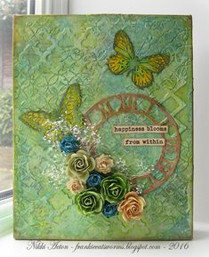 Addicted to Art: Spring Floral Canvas