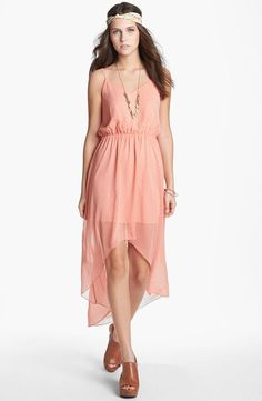 Whimsy & romantic. Love this high-low dress!