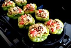 Healthy Stuffed Bell Peppers Recipe, Buff Dude Style!