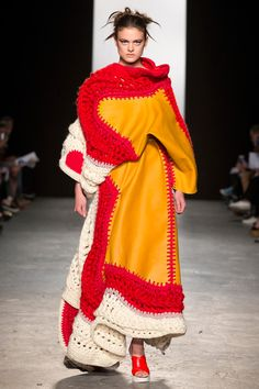 Westminster BA Fashion Design show 2015 Kate Brittain