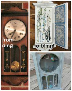 Repurpose: Grandfathered jewelry storage ...