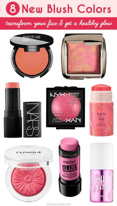 There's something here for everyone! (Large pores? Wrinkles? Oily skin? You're covered, too!)  #blush #makeup #products