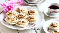 Mini Cupcakes, Muffin, Breakfast, Desserts, Food, Kaneli, Morning Coffee, Tailgate Desserts, Deserts