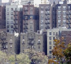 Apartment houses in Fort George, Manhattan.