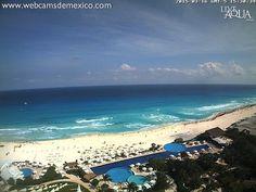 Así las cosas en este momento en #Cancún #QuintanaRoo. Vista @liveaquacancun . ¡Qué tal!