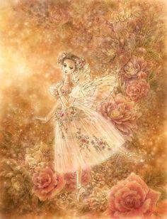 alifeoffairytales:  La Sylphide by aruarian-dancer    Art byMitzi Sato-Wiuff