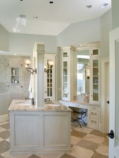 Traditional Bathroom Dark Cabinetry Blue Walls Design, Pictures, Remodel, Decor and Ideas - page 43