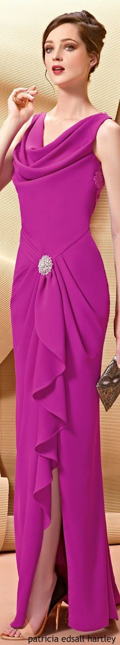 @roressclothes clothing ideas #women fashion purple dress Angela Ariza:
