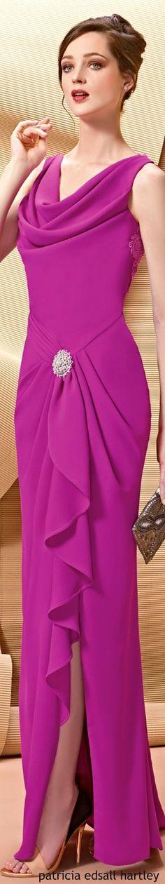 @roressclothes clothing ideas #women fashion purple dress Angela Ariza: