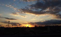 Fall Sunset on Caserta, Italy