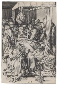 MARTIN SCHONGAUER (CIRCA 1445-1491) The Death of the Virgin