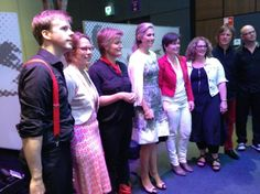 Queen Maxima of The Netherlands attended the annual PO-Raad (Primary Education) congress