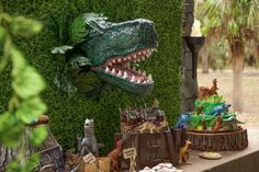 Jurassic World Birthday Party | CatchMyParty.com