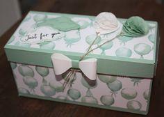 Längliche Box mit bebilderter Anleitung, Gift Bag Punchboard, SU, Luftballons, Verpackung, Schleife, Frühjahr/Sommerkatalog