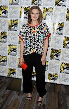 FOX FANFARE AT SAN DIEGO COMIC-CON © 2016: L-R: BONES cast member Emily Deschanel during the BONES…
