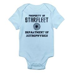 Star Trek Starfleet Academy Dept of Astrophysics Infant Bodysuit