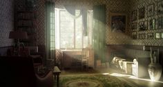 Vintage Room Wallpaper: Images and photos objects – Hit interiors