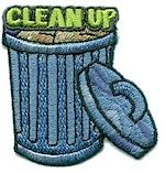 Clean Up Fun Patch. We have tons of Girl Scout Embroidered Fun Patches for low prices! Look at them all on PatchFun.com