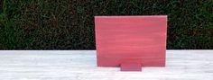 Portaretratos Hawaiano Rojo, hecho a mano con materiales 100% naturales.