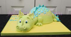 - Dragon cake