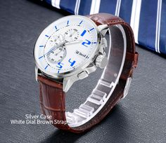 e57c567e0e2 BOLISI 8211 Fashionable Chronograp Quartz Watches With Leather Watch Band