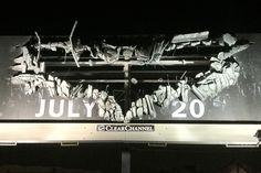 """An innovative """"Dark Knight Rises"""" billboard"""