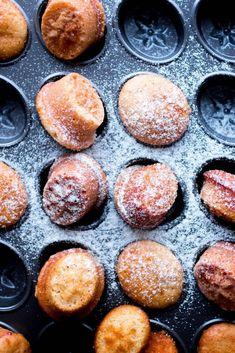 cinnamon mini muffins.