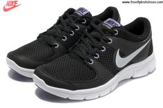 Buy New Womens Nike Flex Experience Run Black Silver Shoes Fashion Shoes Shop