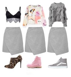 """""""3ways"""" by kirac on Polyvore featuring Lanvin, Kenzo, Vans and Timberland"""