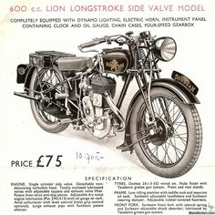 Vintage British Motorcycles of the at Sheldon's EMU Bike Poster, Motorcycle Posters, Poster Ads, British Motorcycles, Vintage Motorcycles, Cars Motorcycles, Retro Bike, Garage Signs, Weird Cars