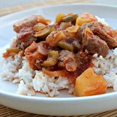 Skinny Slow Cooker Sweet and Sour Pork Recipe# slow cooker healthy recipes