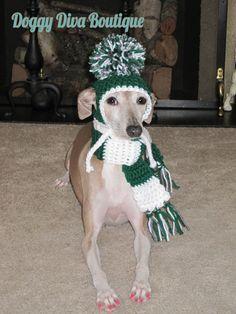 8934c774385 Items similar to Dog Hat - Football Fan Dog Hat - Eagles Football Fan Dog  Hat - Made to Order on Etsy