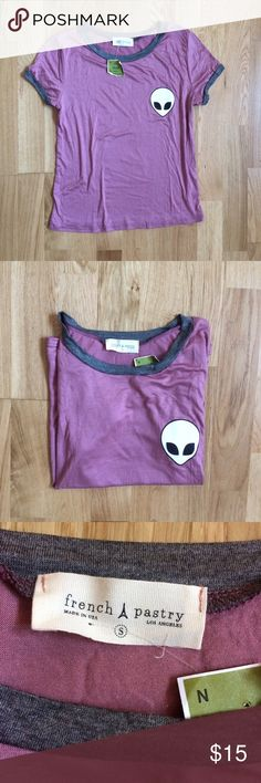 French Pastry alien tee ✌️ Brand new with tags Tops Tees - Short Sleeve