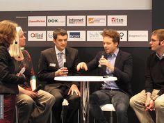 Unser Besuch auf der Cebit in Hannover - 2013. Teilnahme an einer Webciety Veranstaltung.