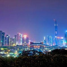Instagram【gengorou_hirano】さんの写真をピンしています。 《深圳夜景  #深圳 #深セン #中国 #蓮花山公園 #莲花山公园 #夜景 #高層ビル #超高層ビル #平安国際金融中心 #深圳市民中心 #摩天楼 #景色 #風景 #scenery #landscape #architecture #nightview #shenzhen #china #skyscraper #buildings #building #cityscape #cityview #一眼レフ #写真撮ってる人と繋がりたい #写真好きな人と繋がりたい #カメラ好きな人と繋がりたい #fb #tw》